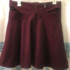 Victoria's Secrets accented A-line mini skirt